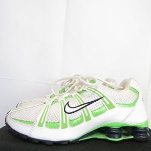 Nike Women's 9.5 EU 41 Shox Turbo 347522-111 Mesh
